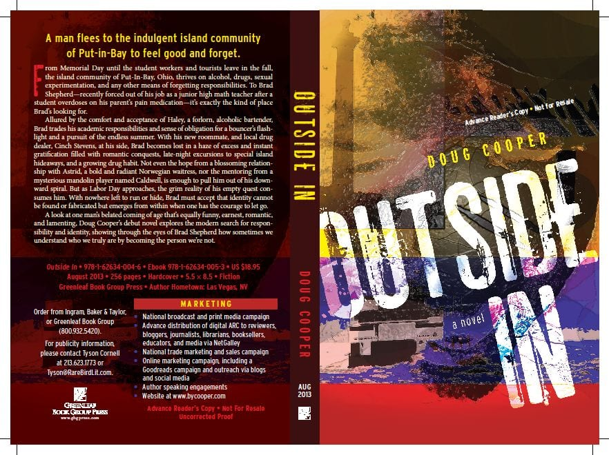 Outside In ARC Cover